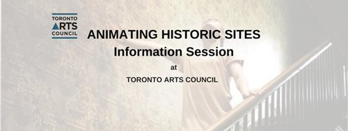 Animating historic sites info session at TAC