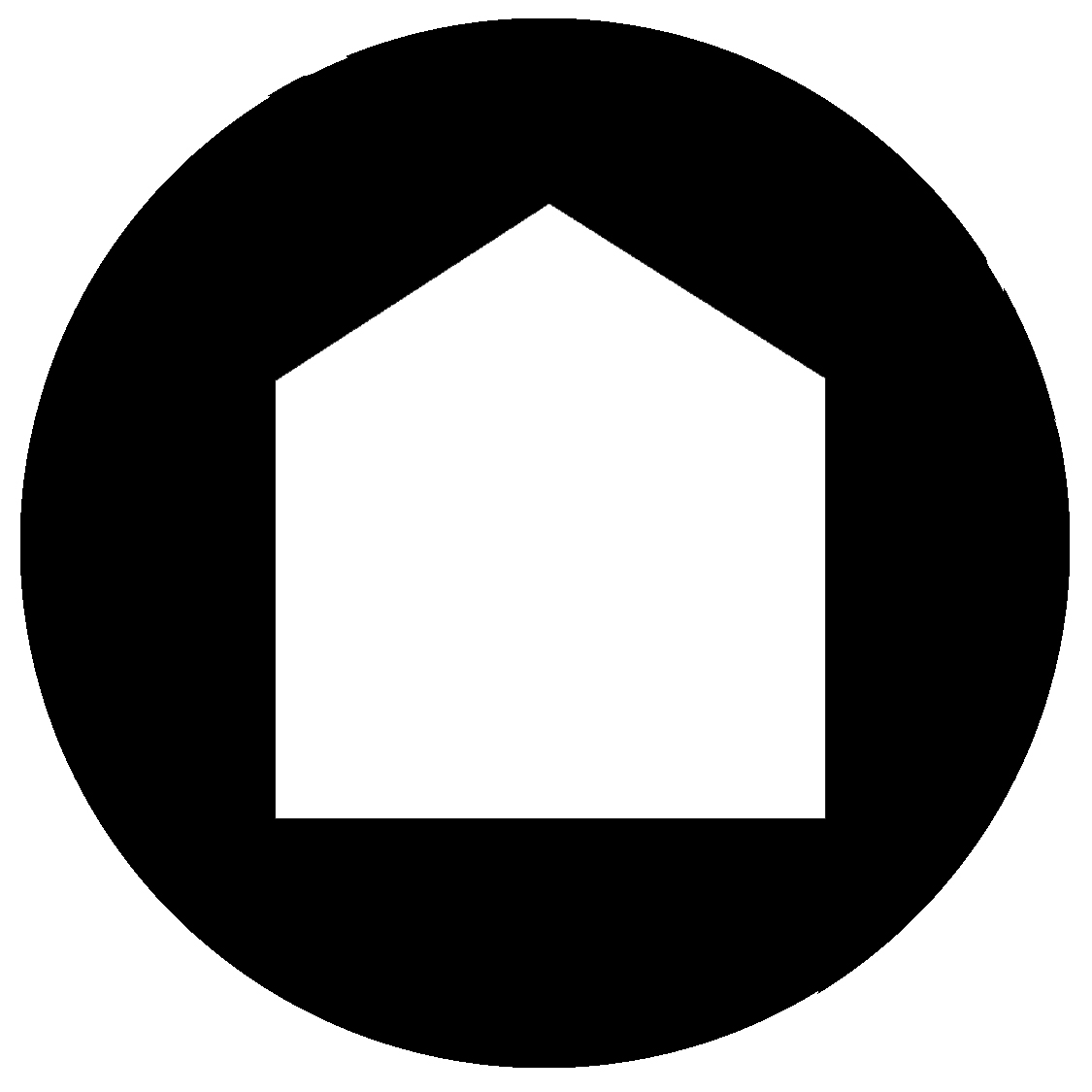 Member profiles neighbourhood arts network for Minimalist house logo