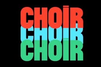 Choir! Choir! Choir! logo