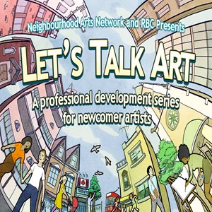 Artwork for Let's Talk Art created by Kenji Toyooka