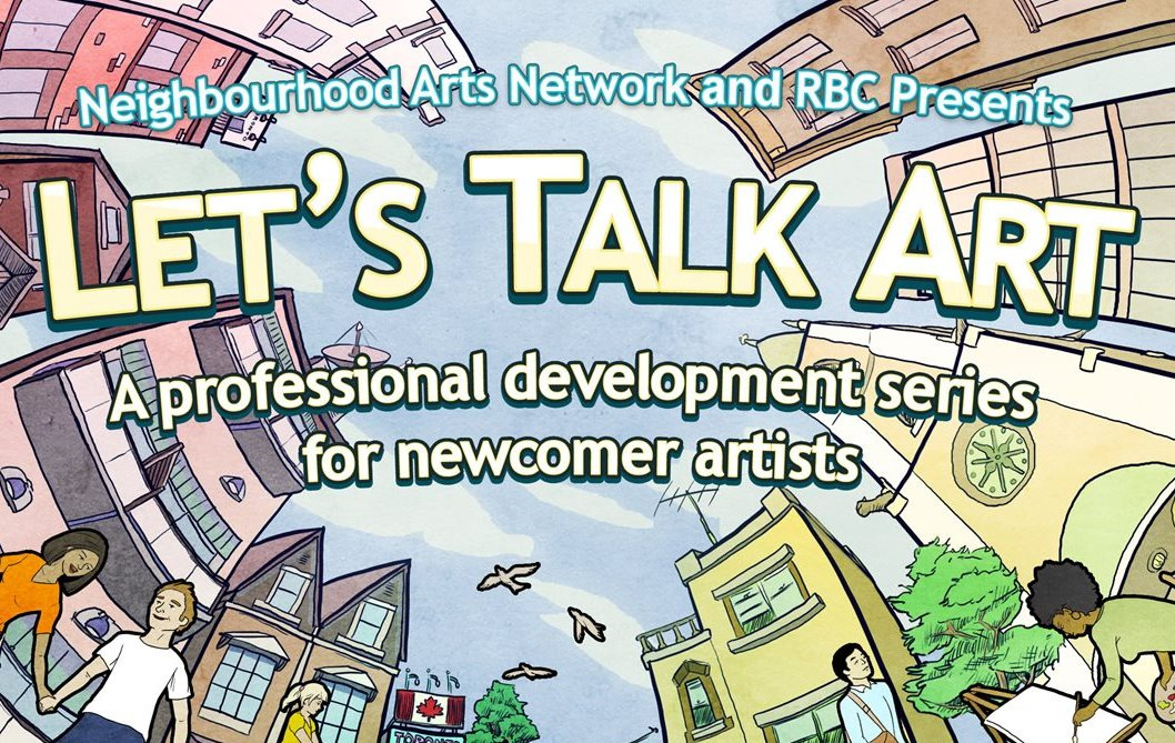Let's Talk Art poster