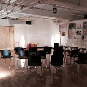Workshop space at Sketch Studios